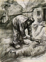 Vincent van Gogh Man with a Hoe