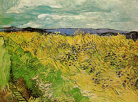 Vincent van Gogh Wheat Field with Cornflowers