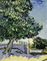 Vincent van Gogh White-Chestnut Tree in Blossom