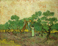Vincent van Gogh Women Picking Olives