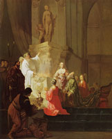 Willem de Poorter The idolatry of King Solomon