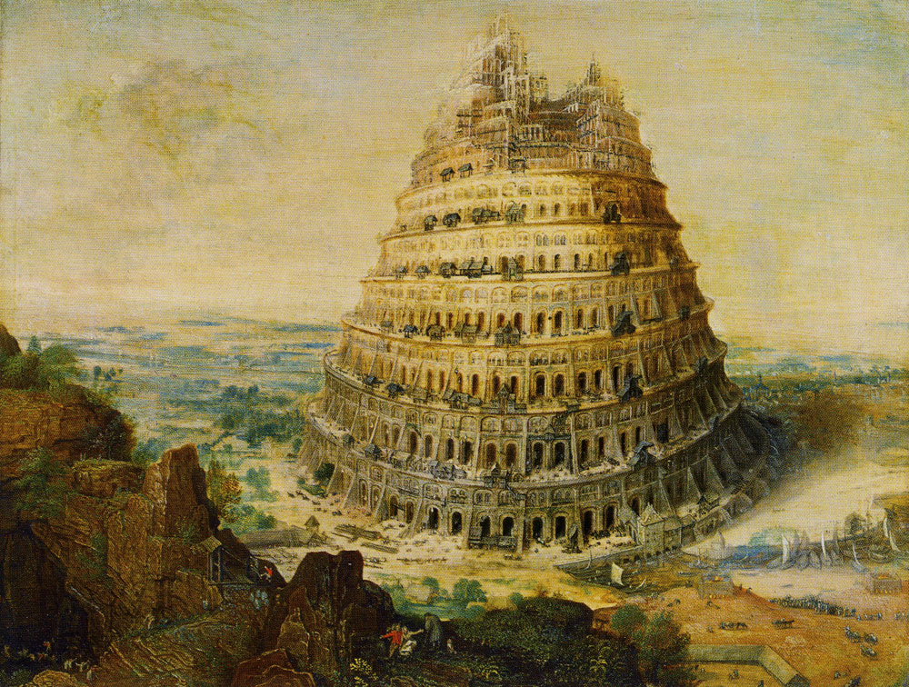 Lucas van Valckenborch - Tower of Babel