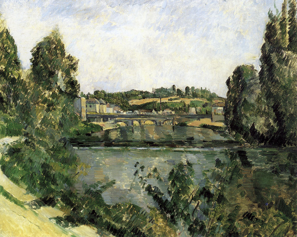 Paul Cézanne - Bridge and dam, Pontoise
