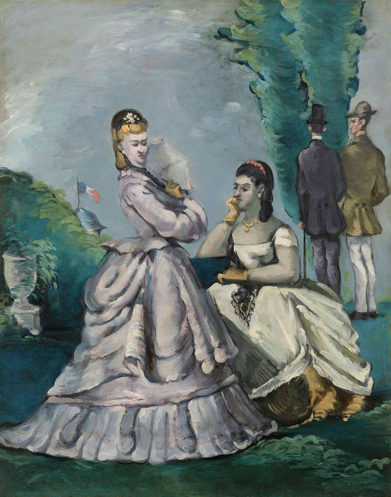 Paul Cézanne - The Conversation