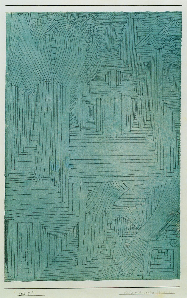 Paul Klee - Forest Architecture