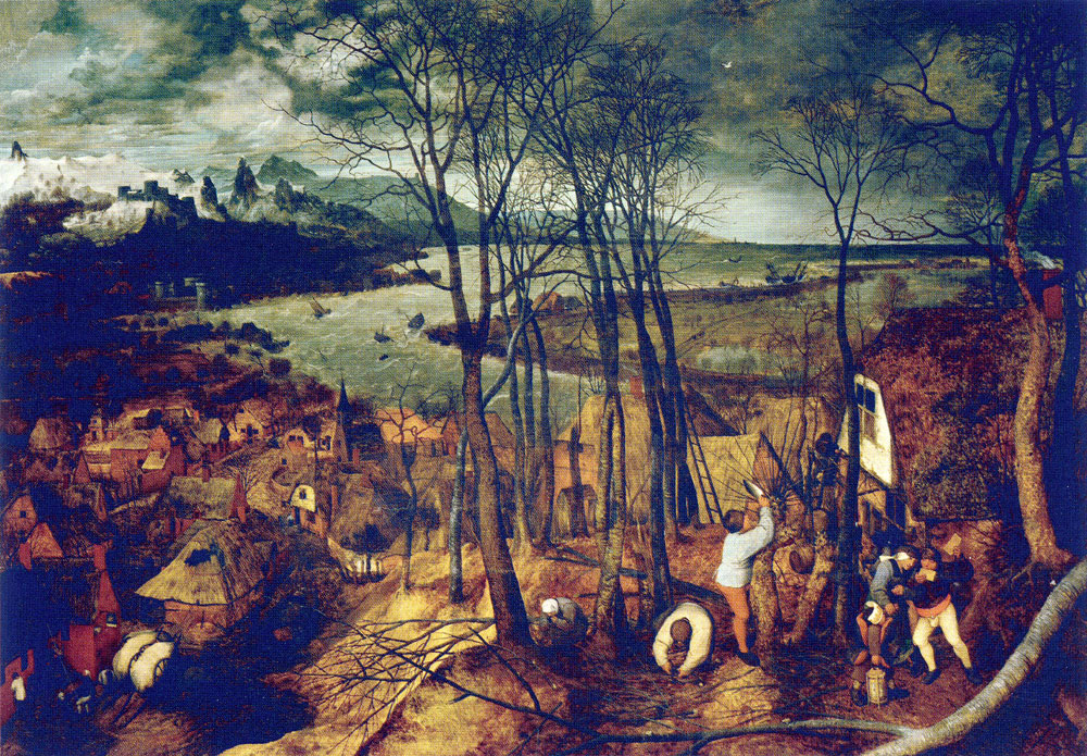 Pieter Bruegel the Elder - The dark day