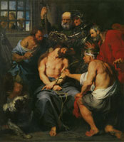Anthony van Dyck - Christ Crowned with Thorns