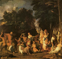 Giovanni Bellini The Feast of the Gods