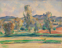 Paul Cézanne Autumn Landscape
