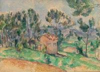 Paul Cézanne - Hunting Cabin in Provence