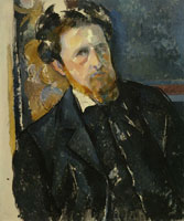 Paul Cézanne Portrait of Joachim Gasquet
