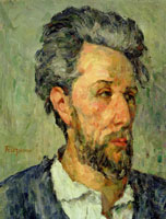 Paul Cézanne Portrait of Victor Chocquet