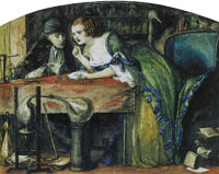 Dante Gabriel Rossetti The Laboratory
