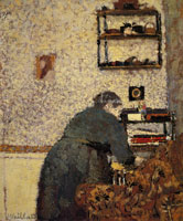 Edouard Vuillard Old Woman in an Interior