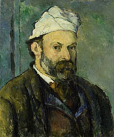 Paul Cézanne Self-Portrait in a White Cap