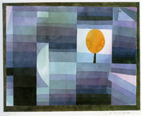 Paul Klee Harbinger of Autumn