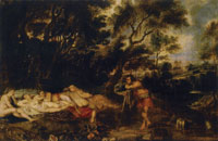 Peter Paul Rubens and Frans Wouters Landscape with Cimon and Iphigenia