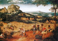 Pieter Bruegel the Elder The hay harvest