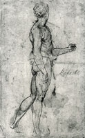 Raphael Nude Man Seen from Behind