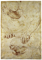 Raphael Study for the Disputa; Man on the Right