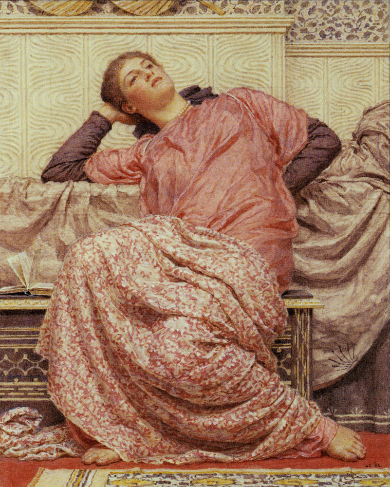 Albert Moore - An Open Book