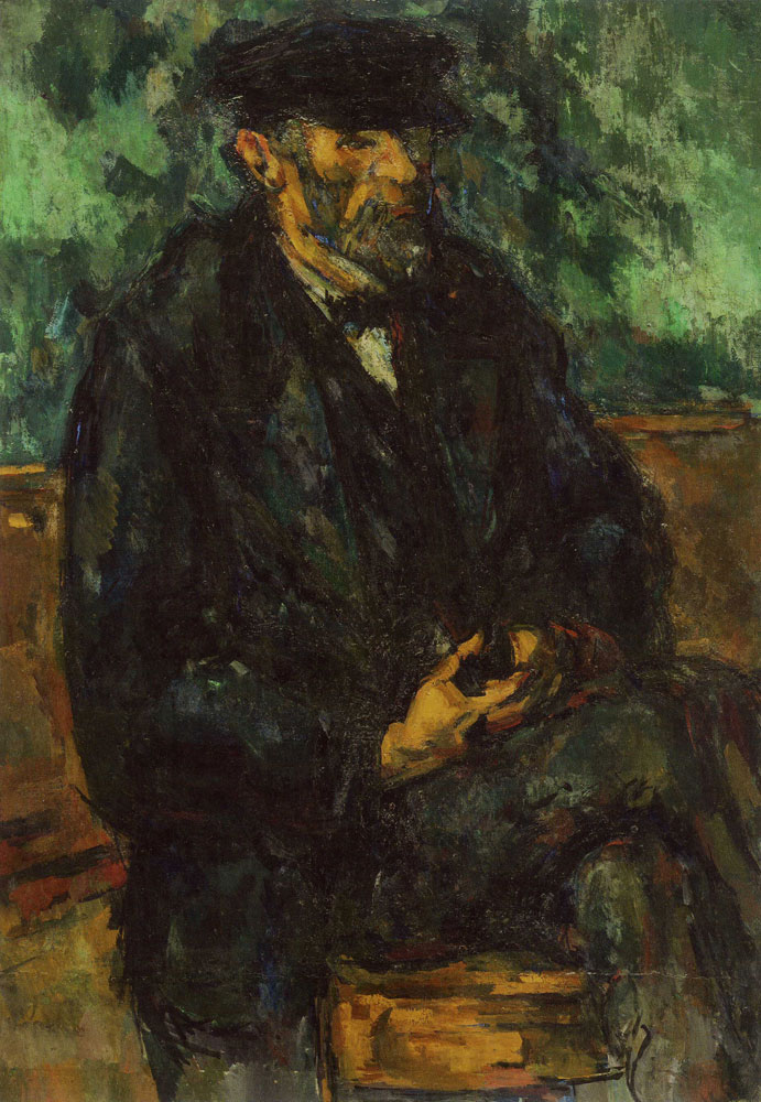 Paul Cézanne - An Old Man