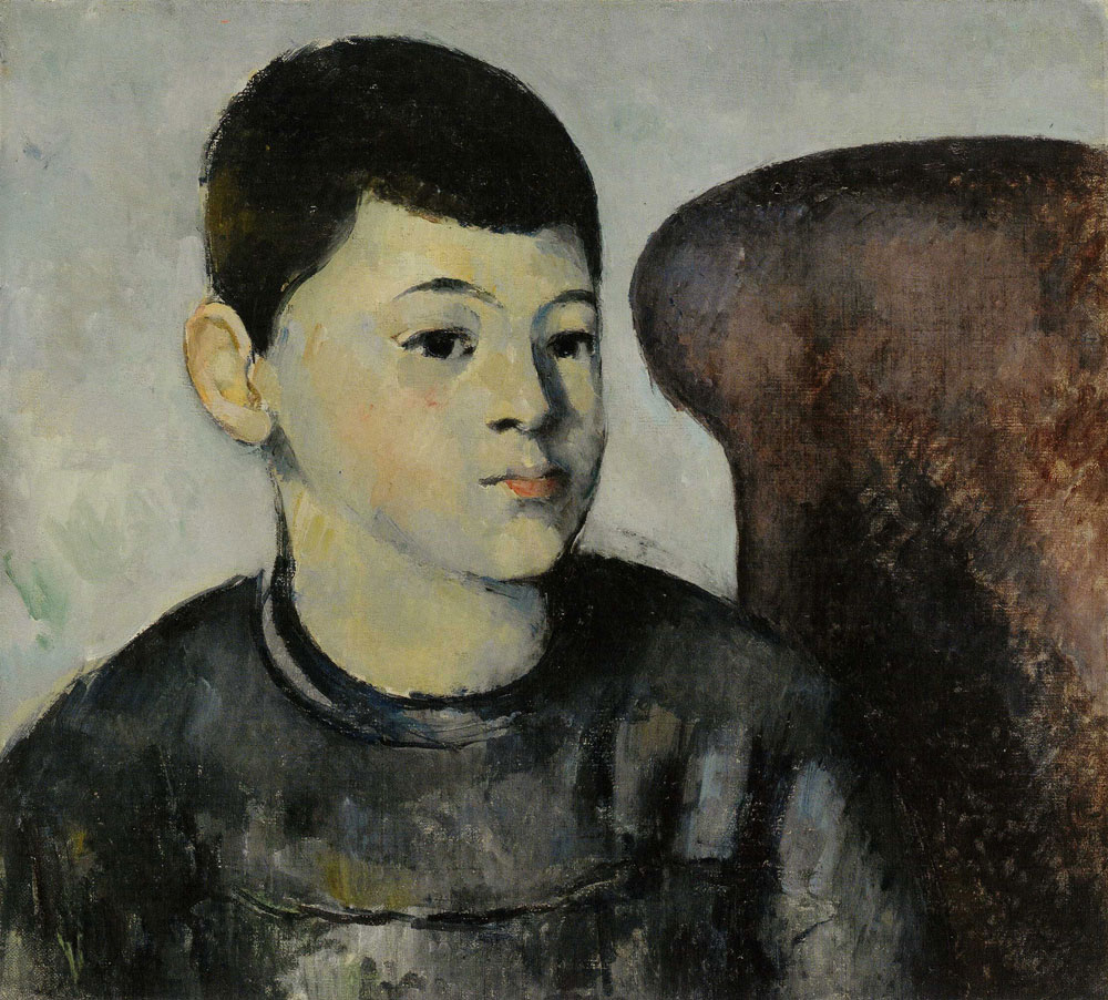 Paul Cézanne - The Artist's Son in a Red Armchair