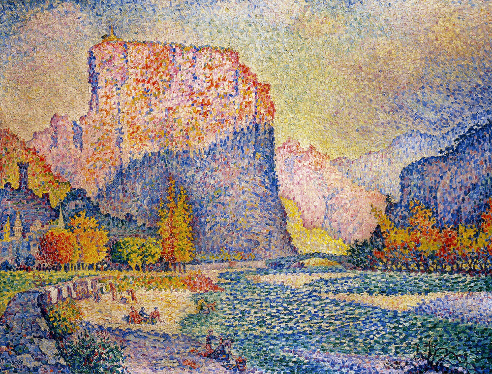 Paul Signac - Castellane