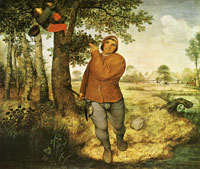 Pieter Bruegel the Elder - The peasant and the bird-nester