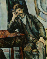 Paul Cézanne The smoker
