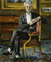 Paul Cézanne Portrait of Victor Chocquet Seated