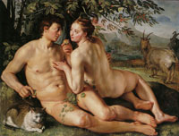 Hendrick Goltzius The Fall of Man