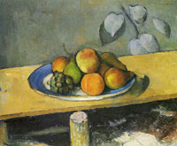 Paul Cézanne Apples, Peaches, Pears and Grapes