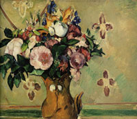 Paul Cézanne Vase of Flowers