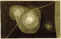 Paul Klee Helical Flowers II