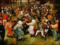 Pieter Bruegel the Elder - Wedding dance