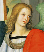 Raphael Head of an Angel