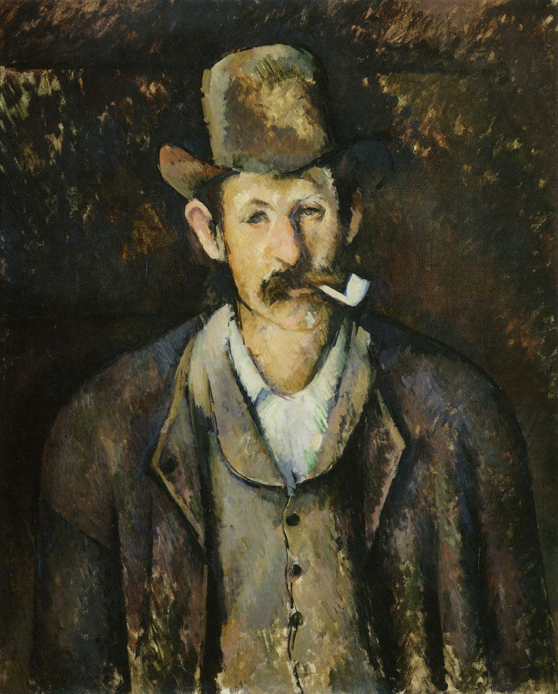 Paul Cézanne - Man with a Pipe