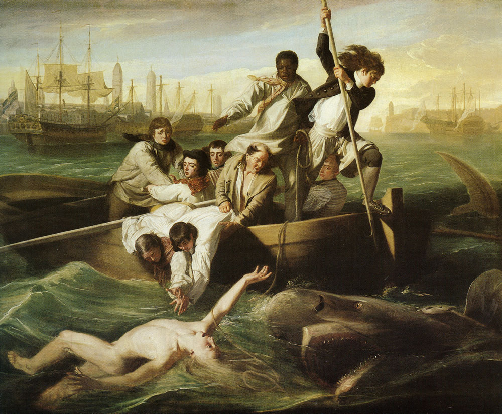 John Singleton Copley - Watson and the Shark