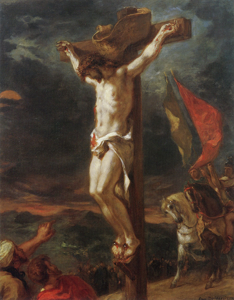 Eugène Delacroix - Christ on the Cross