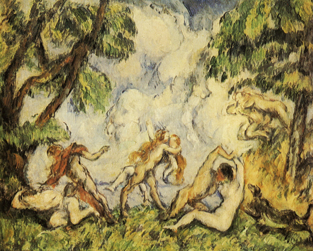 Paul Cézanne - The battle of love