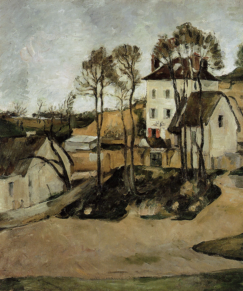 Paul Cézanne - The house of Doctor Gachet, Auver-sur-Oise