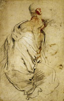 Anthony van Dyck Old Bearded Man Carrying a Bundle