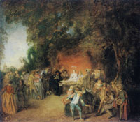 Antoine Watteau The Marriage Contract