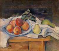 Paul Cézanne Fruit on a Table