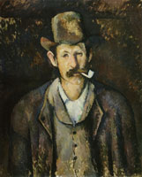 Paul Cézanne Man with a Pipe