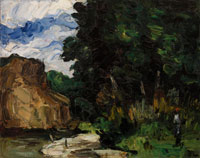 Paul Cézanne River Bend