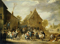 David Teniers the Younger Village Wedding