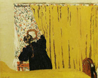 Edouard Vuillard The Yellow Curtain
