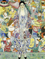 Gustav Klimt Portrait of Friederike Maria Beer